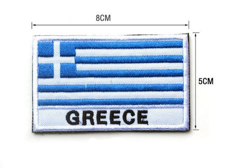 European Flag Tactical Patches - Greece - Patches Patches