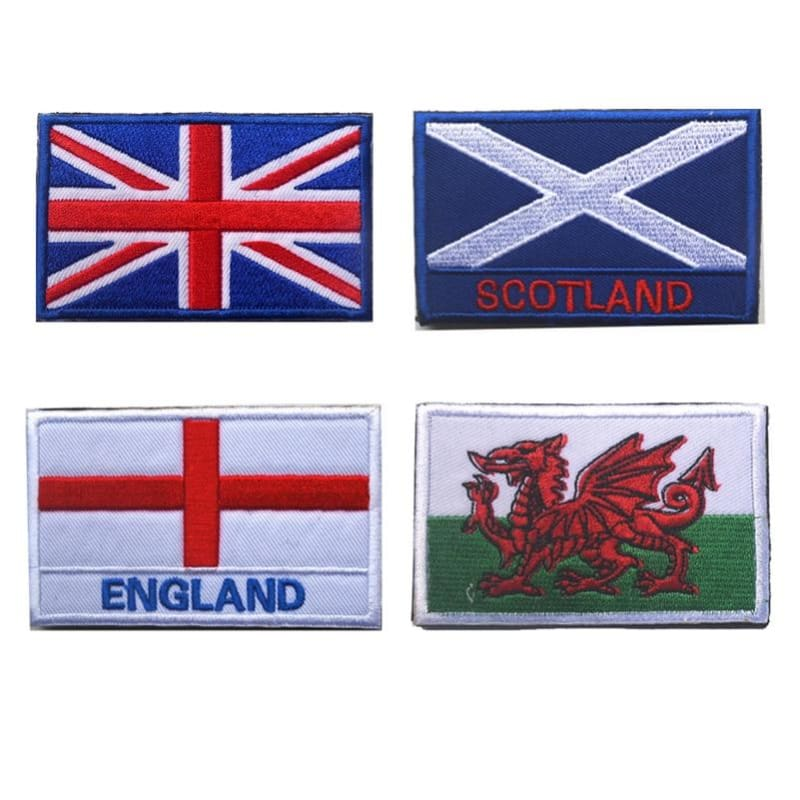 European Flag Tactical Patches - Patches Patches