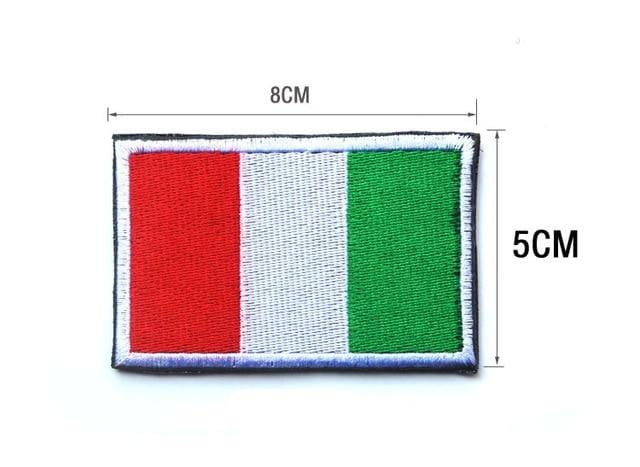 European Flag Tactical Patches - Italy - Patches Patches