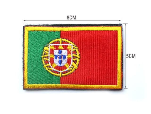 European Flag Tactical Patches - Portugal - Patches Patches
