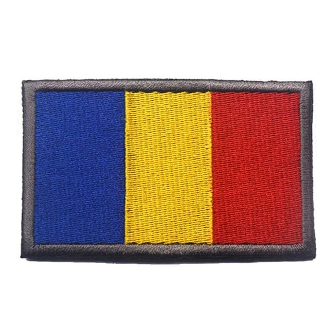 European Flag Tactical Patches - Romania - Patches Patches
