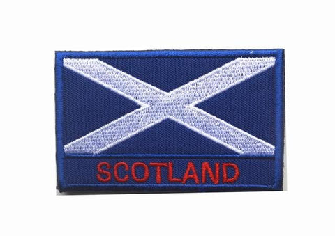 European Flag Tactical Patches - Scotland - Patches Patches