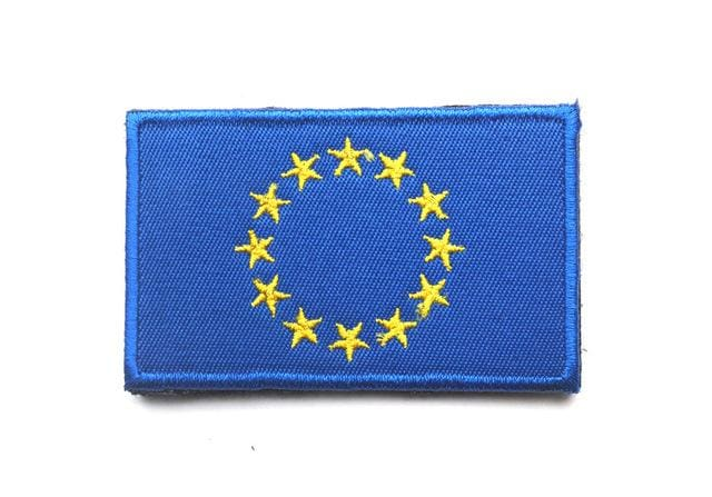 European Flag Tactical Patches - European Union - Patches Patches