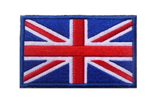 European Flag Tactical Patches - United Kingdom - Patches Patches