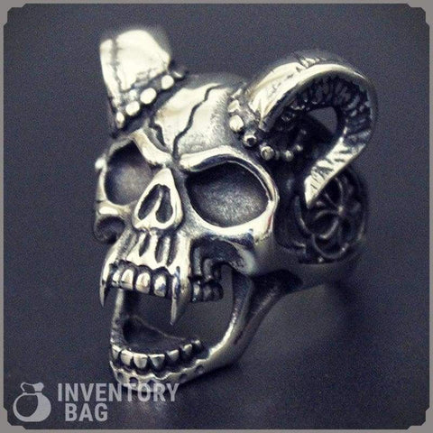 Image of Evil Skull - Rings Fantasy Jewelry Rings