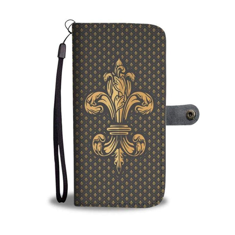 Image of Fleur-De-Lis Case - Wallet Case Phonecases Wallets
