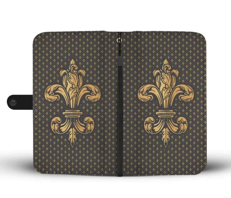 Fleur-De-Lis Case - Wallet Case Phonecases Wallets