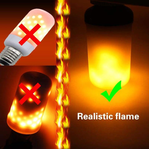 Flickering Led Flame Bulb - Led Bulbs & Tubes Light