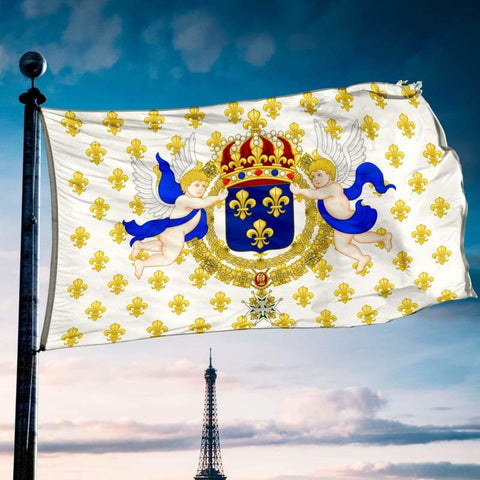 French Royal Standard 1638 Flag - Flags Banners & Accessories Flag Flags