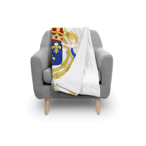 Image of French Royal Standard Blanket - Blanket Blankets