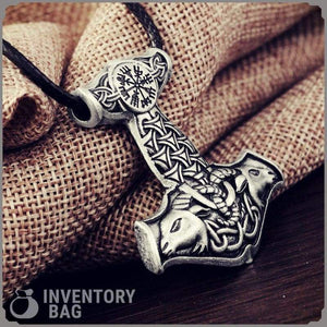 Goat Knot Thors Hammer - Viking Necklace Jewelry Necklace Vikings