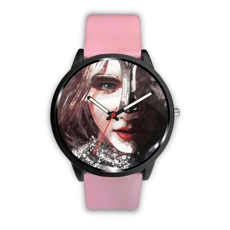 Honor Your Roots - Mens 40Mm / Pink - Watch Vikings Watch