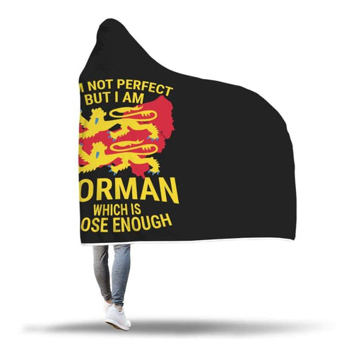 Image of I Am Norman Hooded Blanket - Hooded Blanket Blankets Hooded Blankets