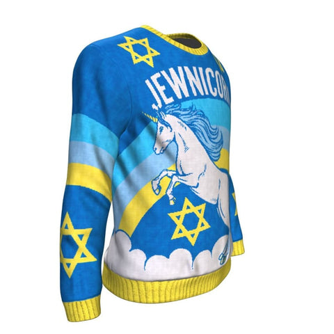 Image of Jewnicorn Sweatshirt - Sweatshirt Christmas