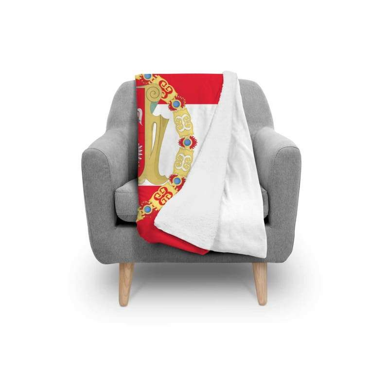 Kingdom Of Poland Blanket - Blanket Blankets Poland