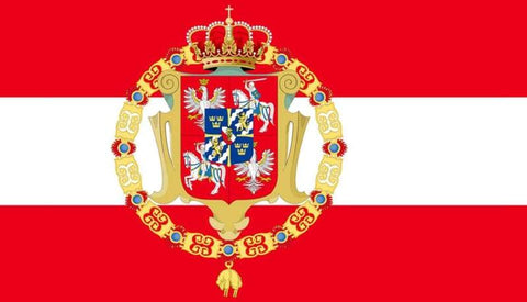 Image of Kingdom Of Poland Flag - Flag Flags Poland