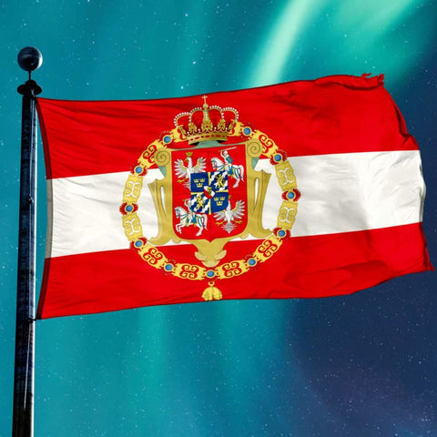 Kingdom Of Poland Flag - Flag Flags Poland