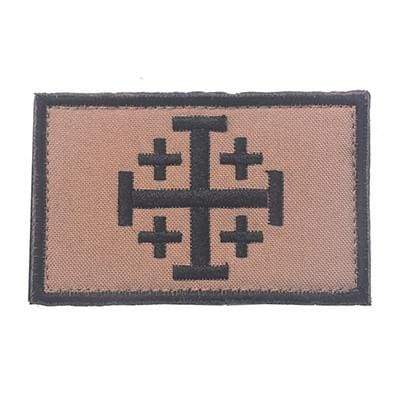 Image of Knights Of Jerusalem Tactical - Design B - Patches Patches