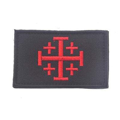 Knights Of Jerusalem Tactical - Design C - Patches Patches