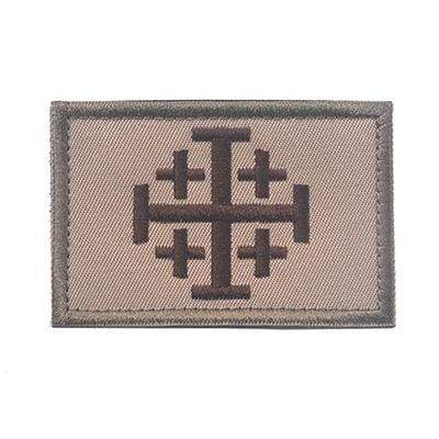 Knights Of Jerusalem Tactical - Design D - Patches Patches