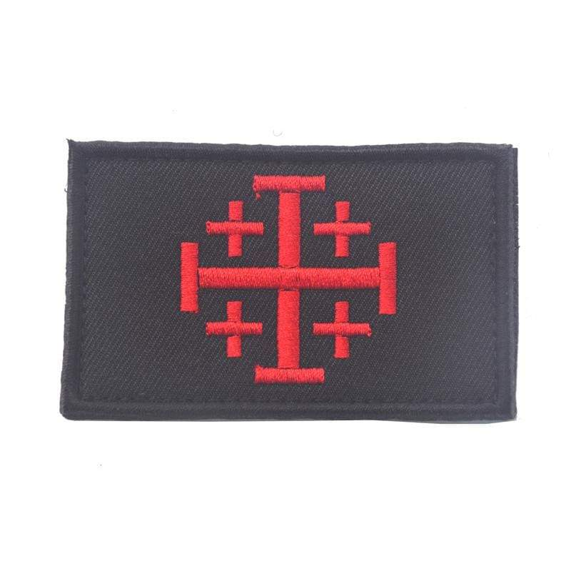 Knights Of Jerusalem Tactical - Patches Patches