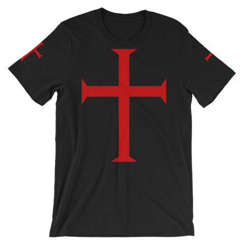 Image of Knights Templar T-Shirt - Black / S - T-Shirt