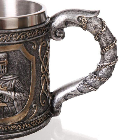 Image of Knights Templar Tankard - Mugs Drinkware