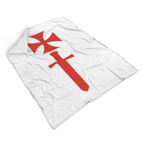 Image of Livonian Brothers Of The Sword Blanket - Blanket Blankets