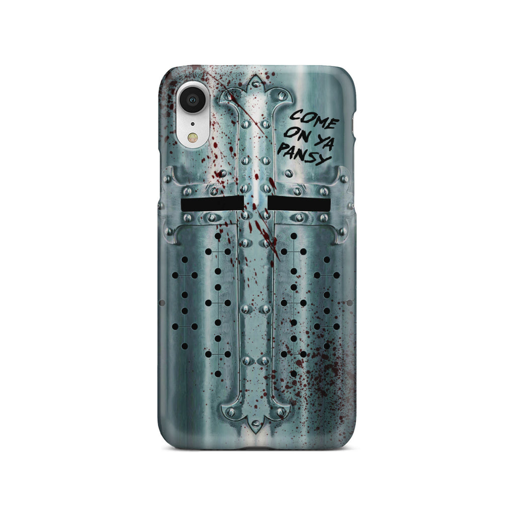 Crusader Helmet - Battle Ready Helmet Phone Case