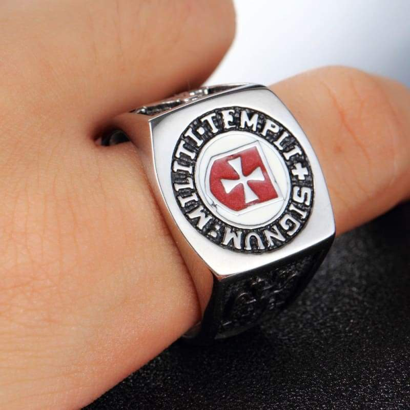 Masonic Templar Ring - Rings Jewelry Knights Rings