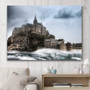 Mont-Saint-Michel - 1-Panel / 24 X 36 - Wallarts Canvas