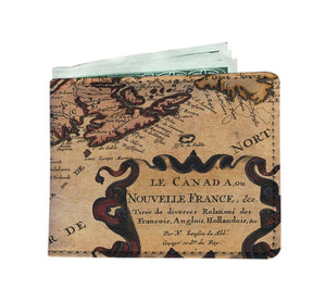 New France Mens Wallet - Mens Wallet Wallets