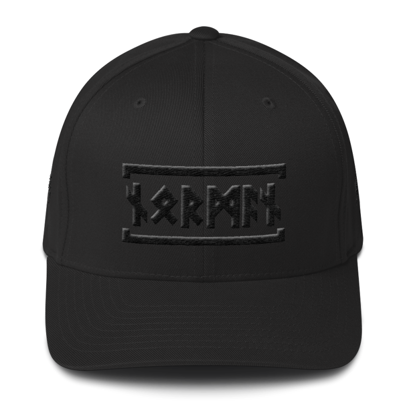 Norman Runes Flexfit Hat - S/m - Hats & Caps Hats Vikings