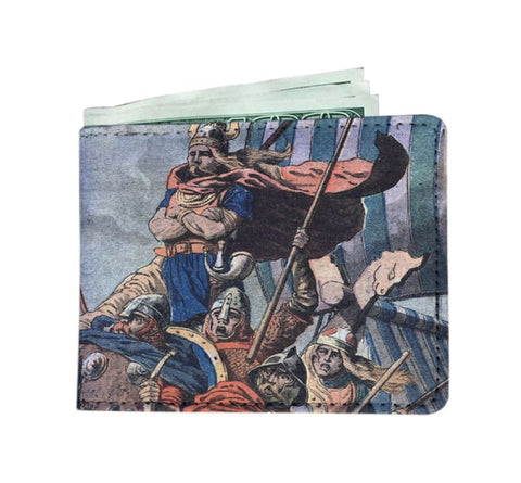 Image of Norman Viking Mens Wallet - Mens Wallet Mens Wallets