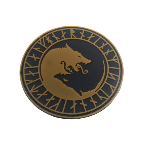Norse Fenrir Pvc Patches - Patches Patches Pvc