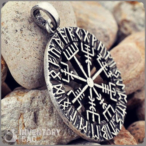 Image of Norse Vegvisir Rune - Jewelry Necklace Vikings