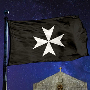 Order Of Hospitallers Flag - Flag Flags Vikings