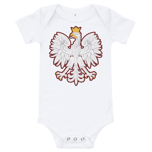 Polish Coat Of Arms Onesie - 3-6M - Apparel Poland