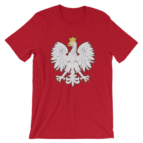 Polish Coat Of Arms T-Shirt - S - Poland T-Shirt