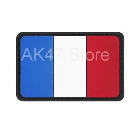 Image of Pvc Flag Patches - Pvc France - Patches Patches Pvc