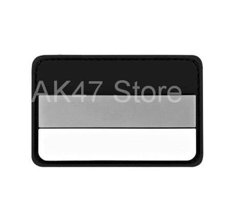 Pvc Flag Patches - Pvc Germany Gray - Patches Patches Pvc