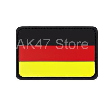 Pvc Flag Patches - Pvc Germany Yellow - Patches Patches Pvc