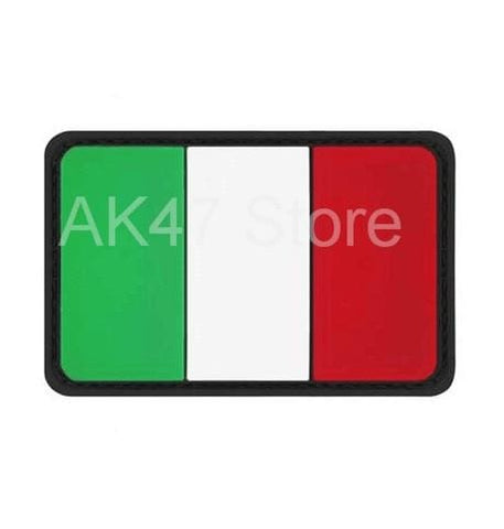 Image of Pvc Flag Patches - Pvc Italy - Patches Patches Pvc