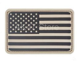 Pvc Flag Patches - Pvc Usa Tan - Patches Patches Pvc