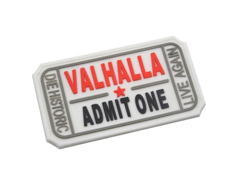 Pvc Ticket To Valhalla Tactical Vikings Patch - Patches Patches Vikings