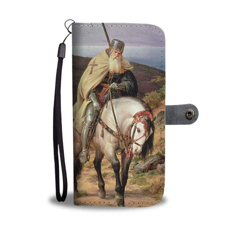 Image of Return Of The Crusader Wallet Case - Wallet Case Cases Phontes Wallets