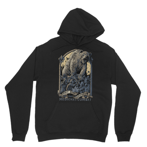 Image of Spirit Bear Company - Medieval Combat Classic Adult Hoodie - Black / Xs - Apparel Apparel Spiritbear