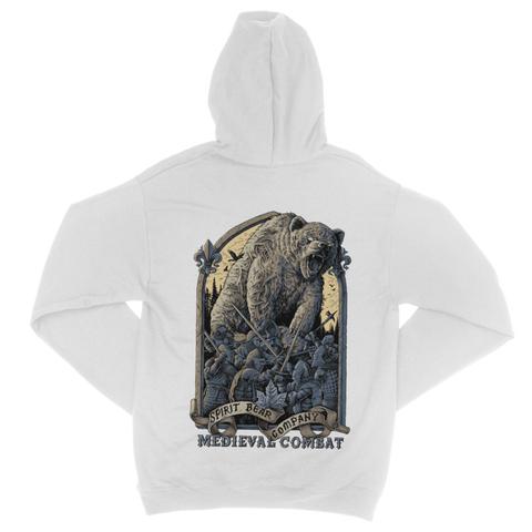 Image of Spirit Bear Company - Medieval Combat Classic Adult Zip Hoodie - Apparel Apparel Spiritbear