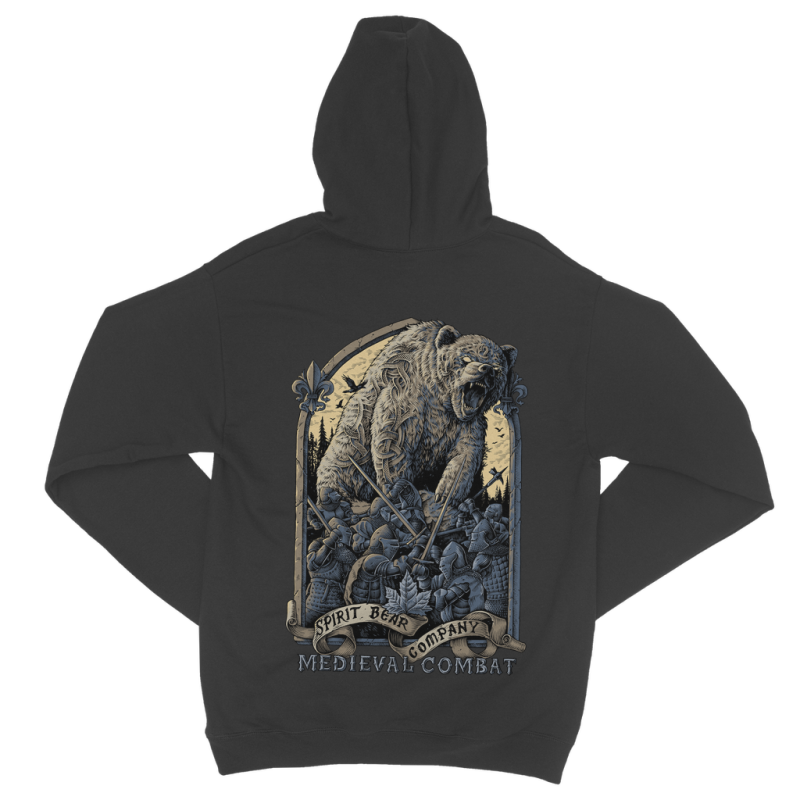 Spirit Bear Company - Medieval Combat Classic Adult Zip Hoodie - Apparel Apparel Spiritbear