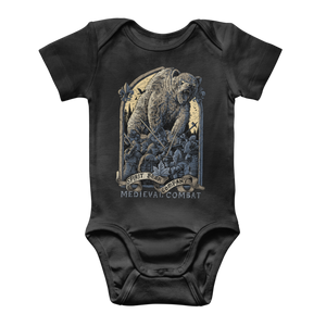 Spirit Bear Company - Medieval Combat Classic Baby Onesie Bodysuit - Black / To 3 Months - Apparel Apparel